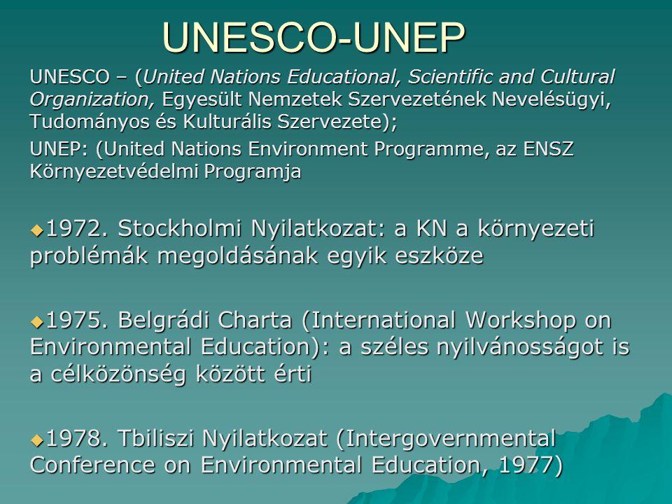 UNESCO-UNEP