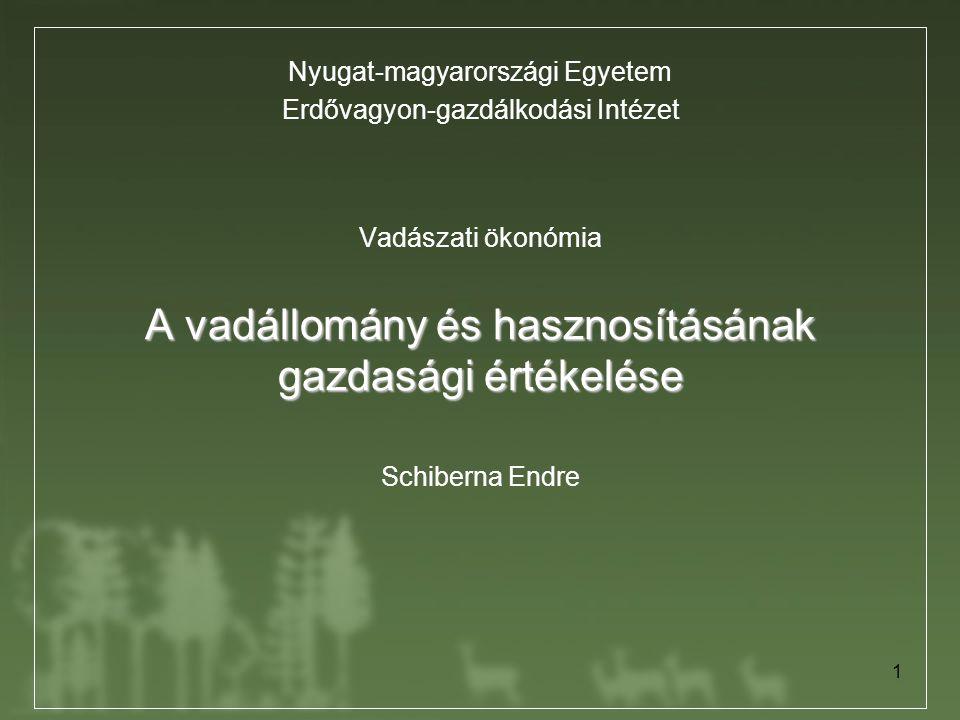 Nyugat-magyarországi Egyetem Erdővagyon-gazdálkodási Intézet