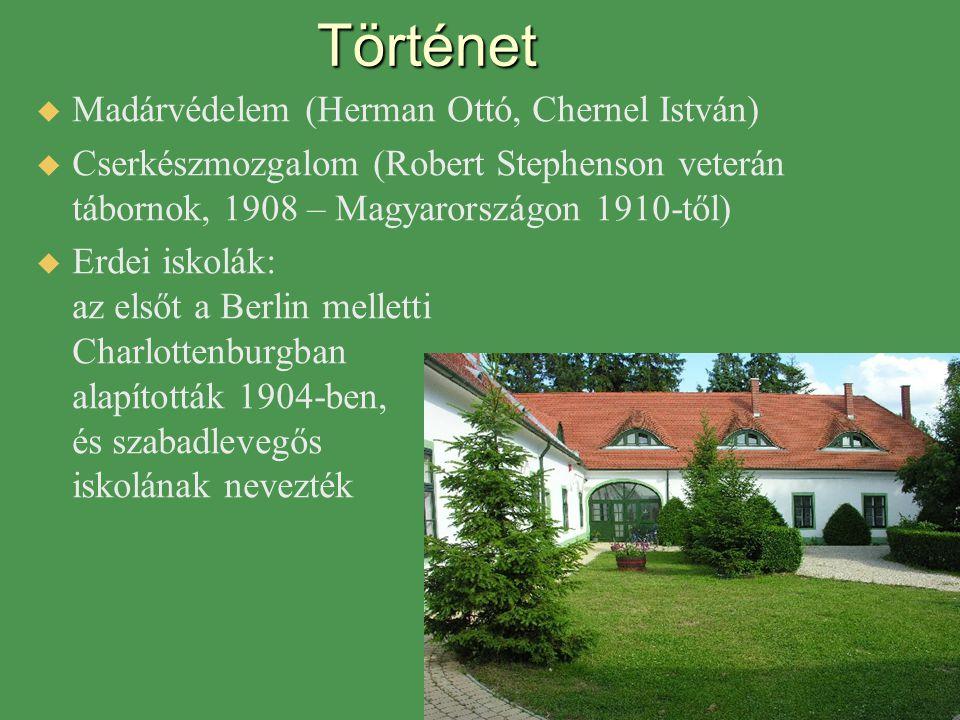 Történet Madárvédelem (Herman Ottó, Chernel István)