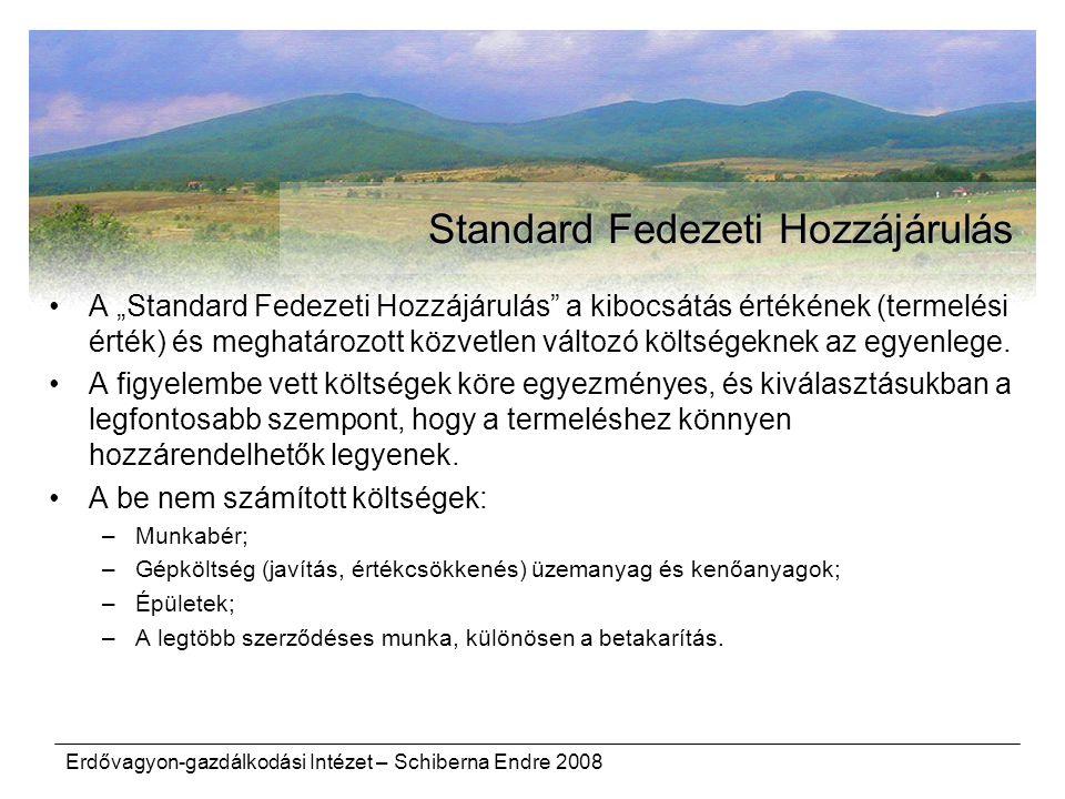 Standard Fedezeti Hozzájárulás
