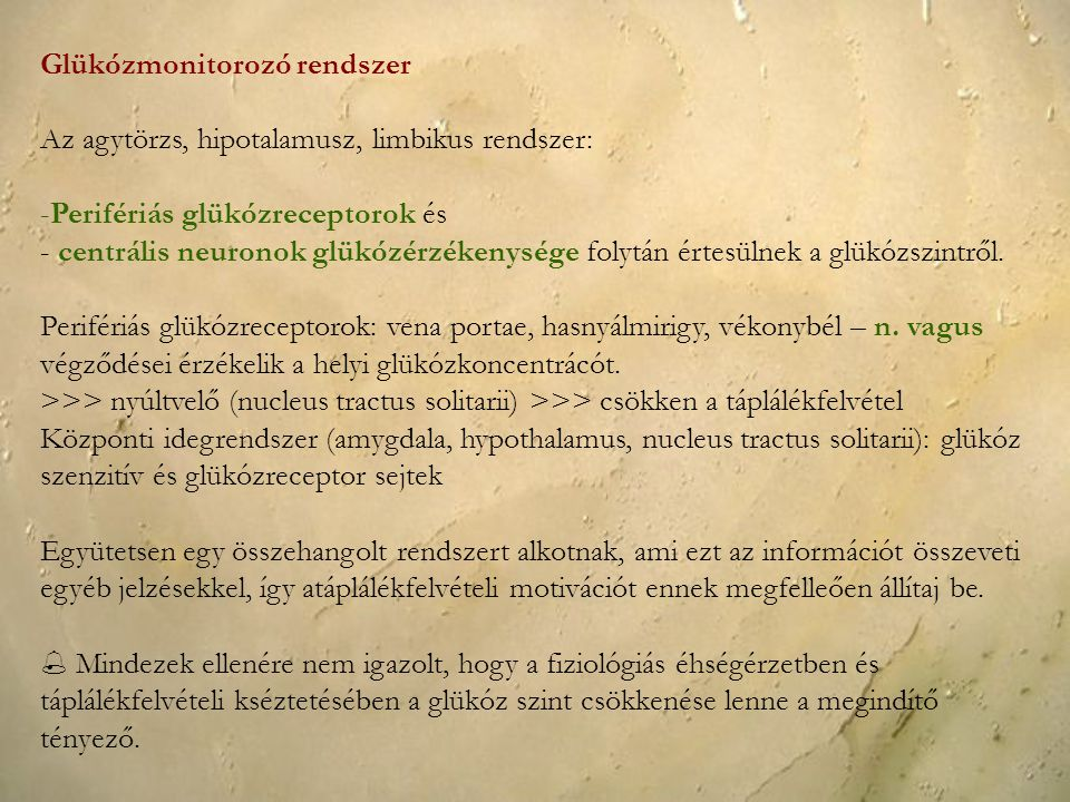 Glükózmonitorozó rendszer