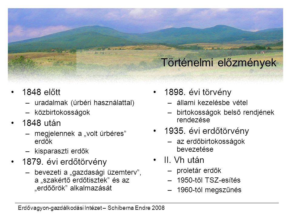 Történelmi előzmények