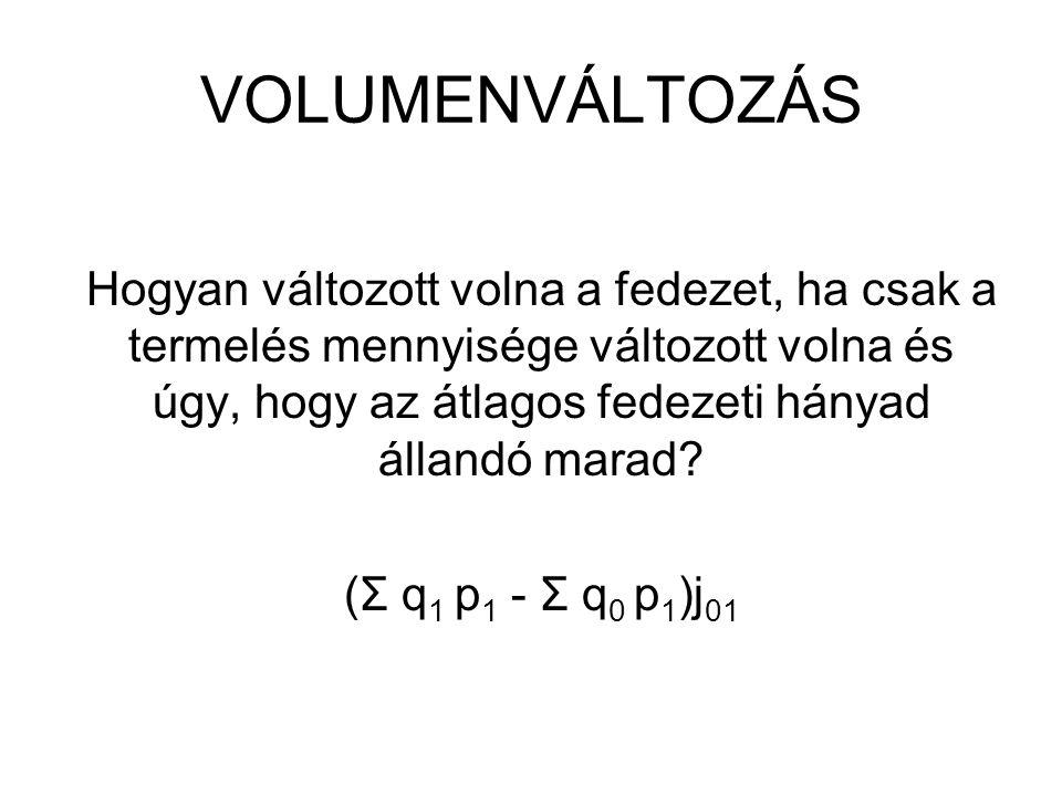 VOLUMENVÁLTOZÁS