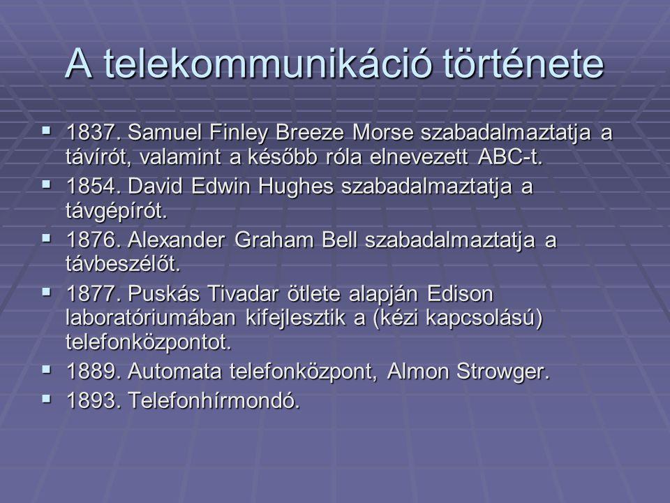 A telekommunikáció története