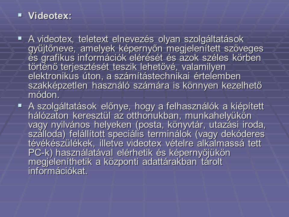 Videotex: