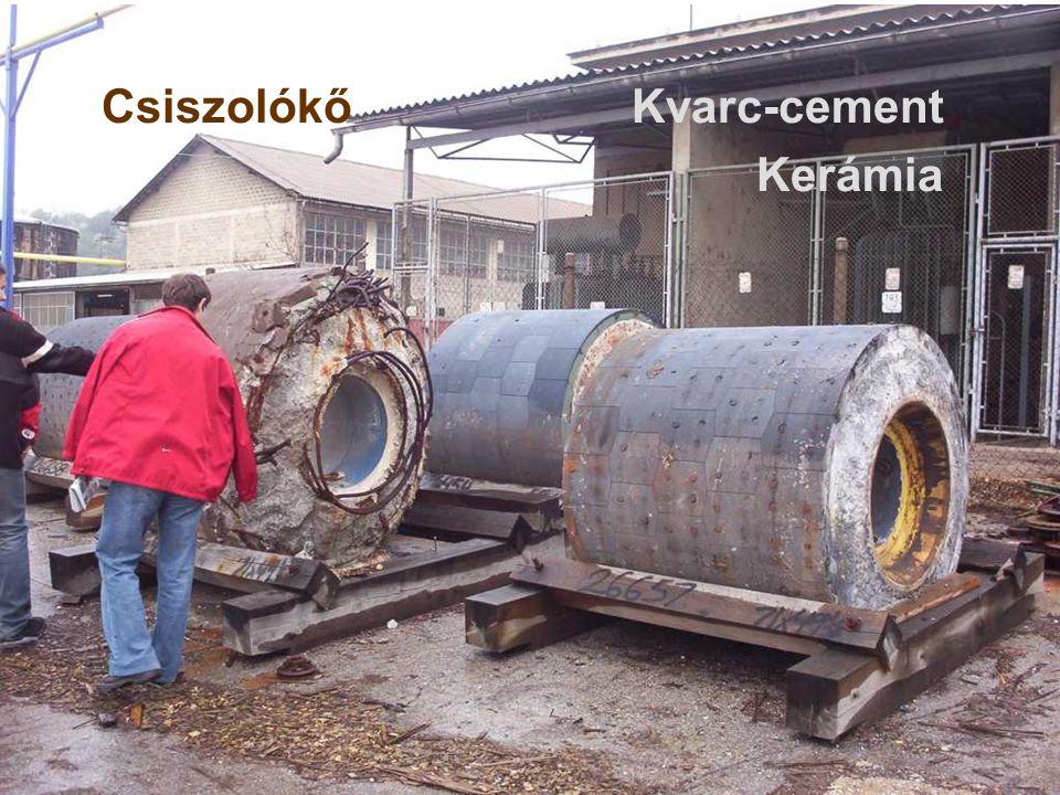 Csiszolókő Kvarc-cement