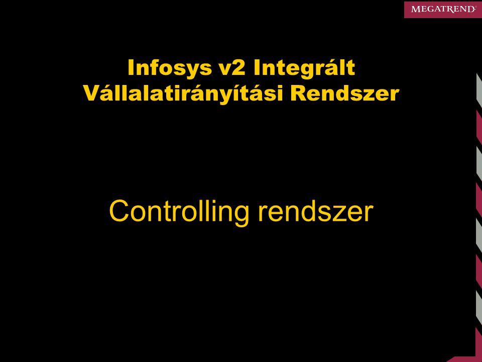 Infosys v2 Integrált Vállalatirányítási Rendszer