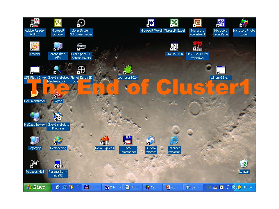 The End of Cluster1