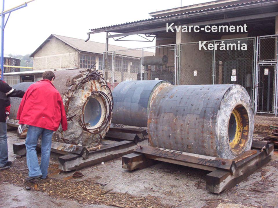 Kvarc-cement Kerámia