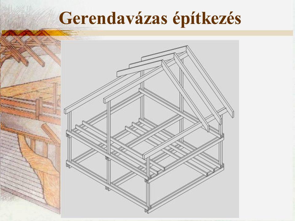 Gerendavázas építkezés