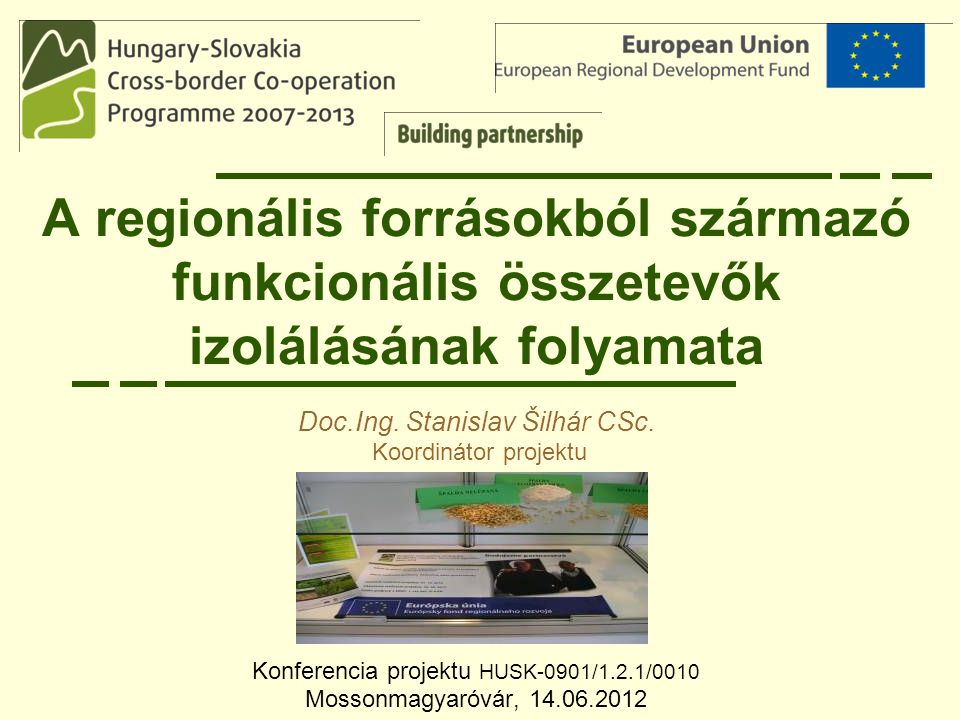 Konferencia projektu HUSK-0901/1.2.1/0010 Mossonmagyaróvár, 14.06.2012