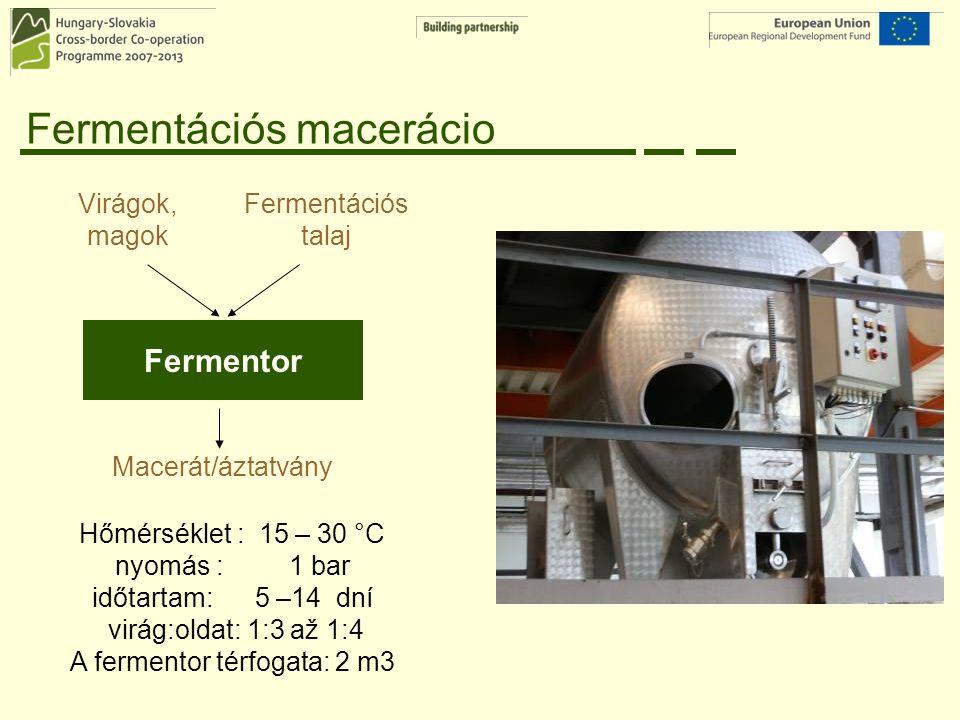 Fermentációs macerácio