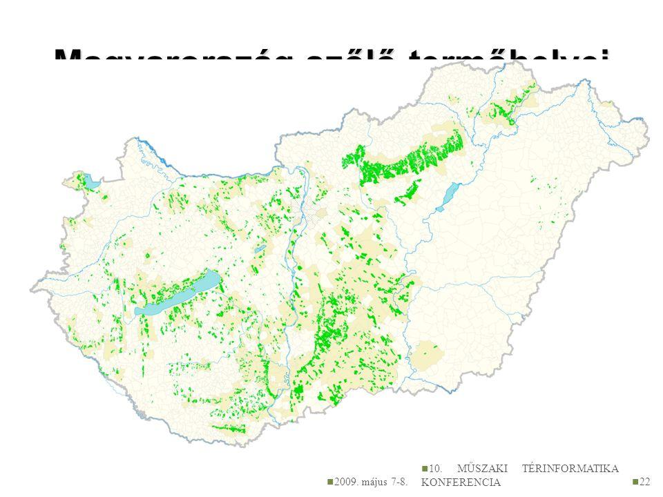 Magyarország szőlő-termőhelyei