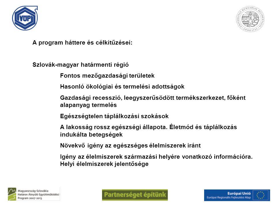 A program háttere és célkitűzései: