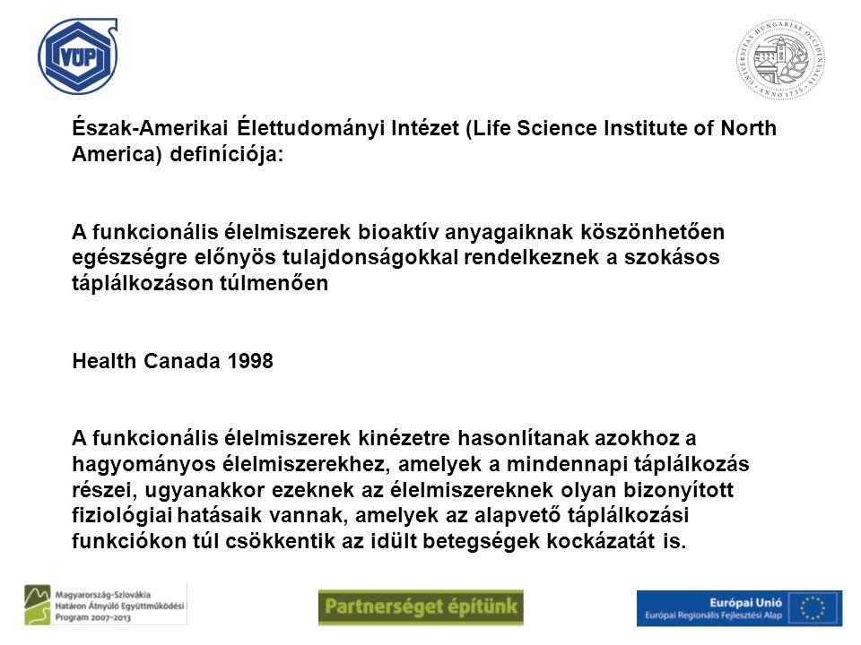 Észak-Amerikai Élettudományi Intézet (Life Science Institute of North America) definíciója: