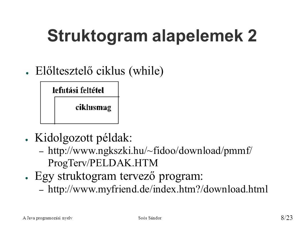 Struktogram alapelemek 2