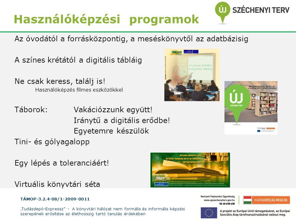 Használóképzési programok