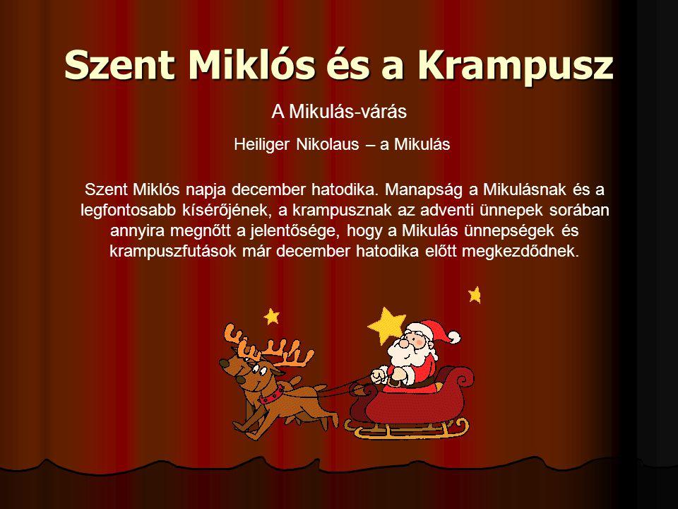 Szent Miklós és a Krampusz