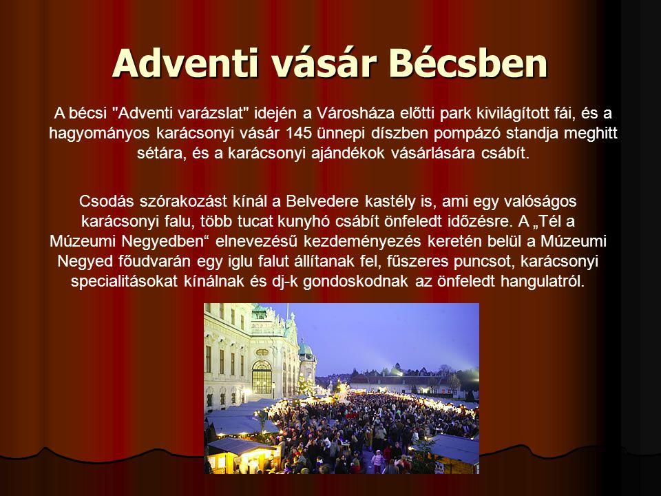 Adventi vásár Bécsben