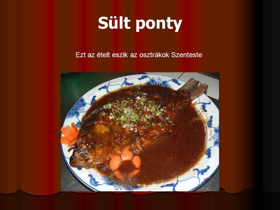 Ezt az ételt eszik az osztrákok Szenteste