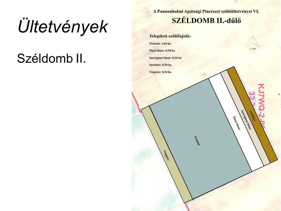 Ültetvények Széldomb II.