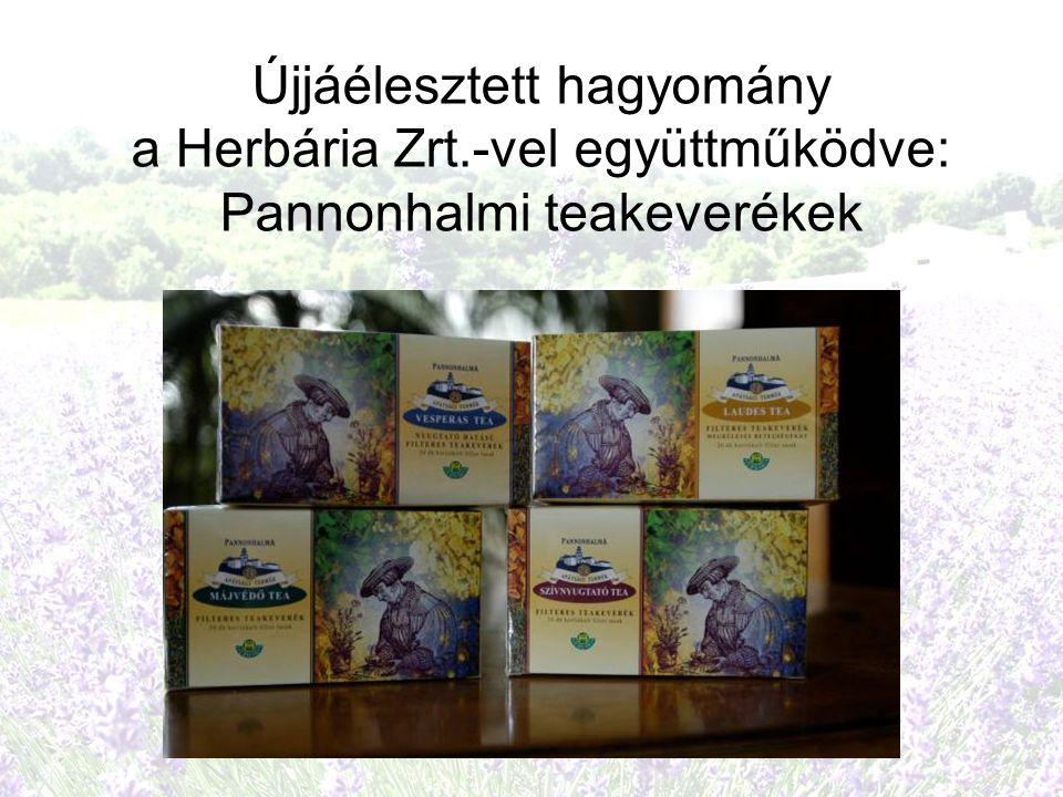 Újjáélesztett hagyomány a Herbária Zrt