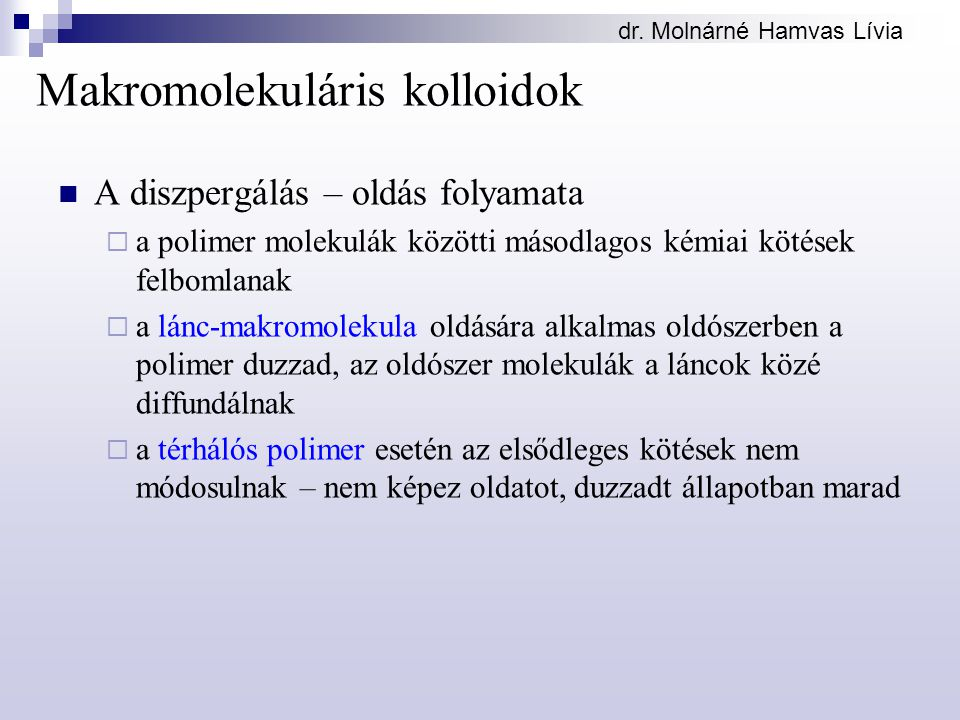 Makromolekuláris kolloidok