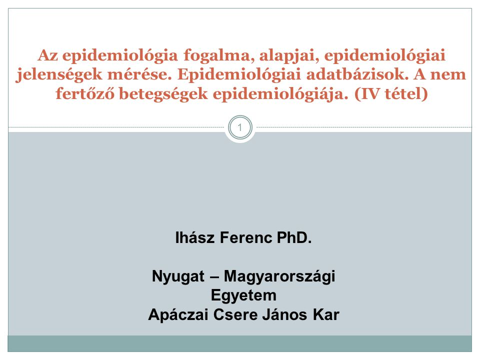 Nyugat – Magyarországi Egyetem Apáczai Csere János Kar