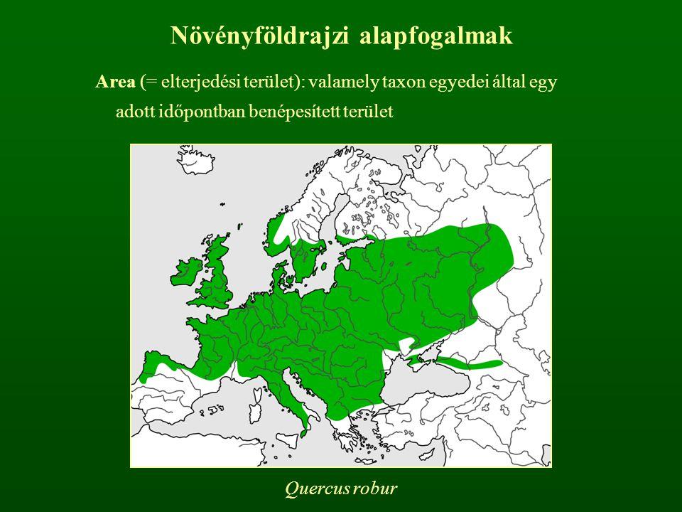 Növényföldrajzi alapfogalmak