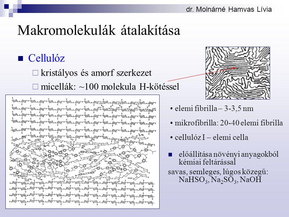 Makromolekulák átalakítása