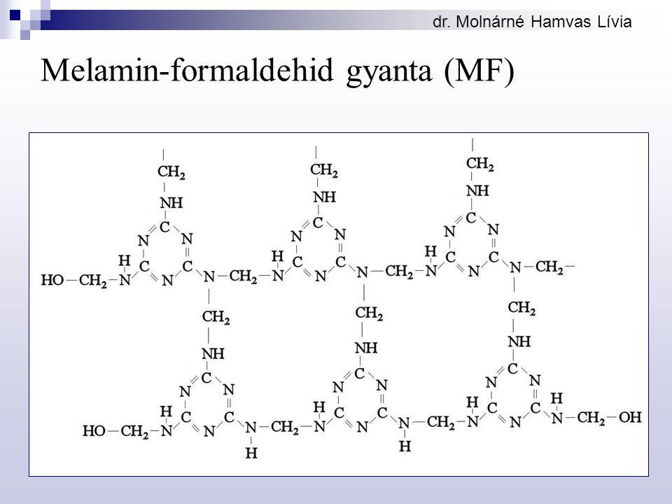 Melamin-formaldehid gyanta (MF)
