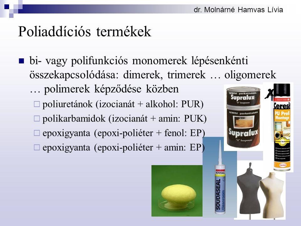 Poliaddíciós termékek