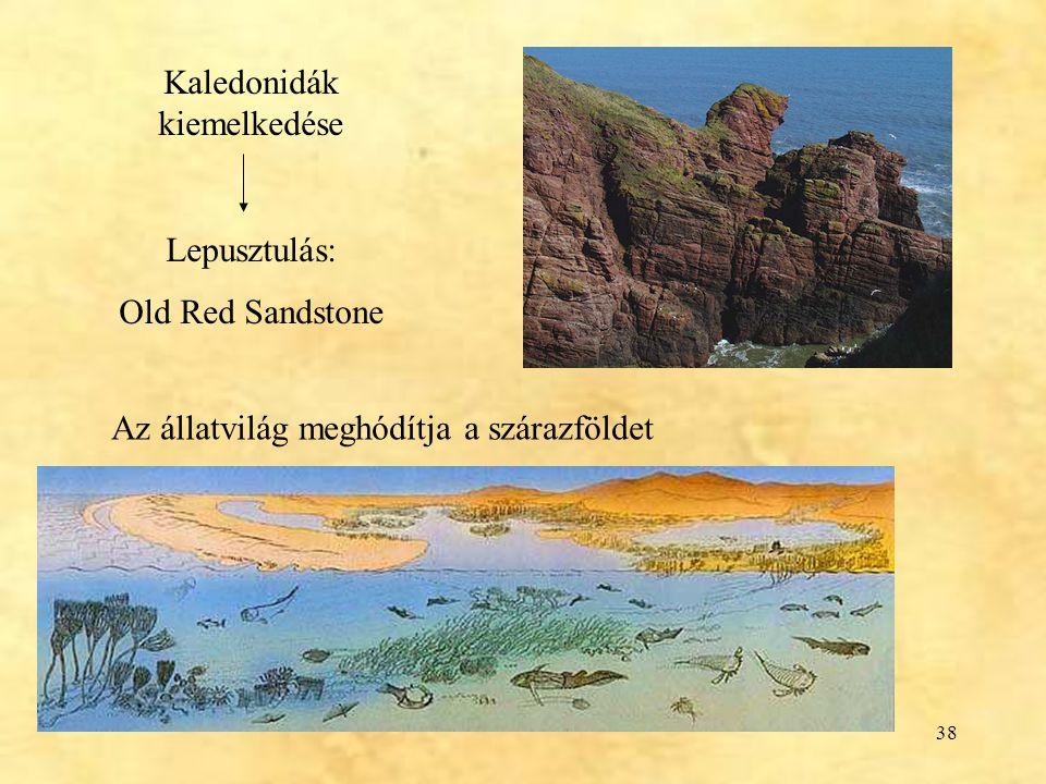 Kaledonidák kiemelkedése
