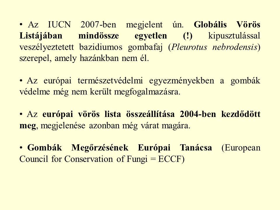 Az IUCN 2007-ben megjelent ún