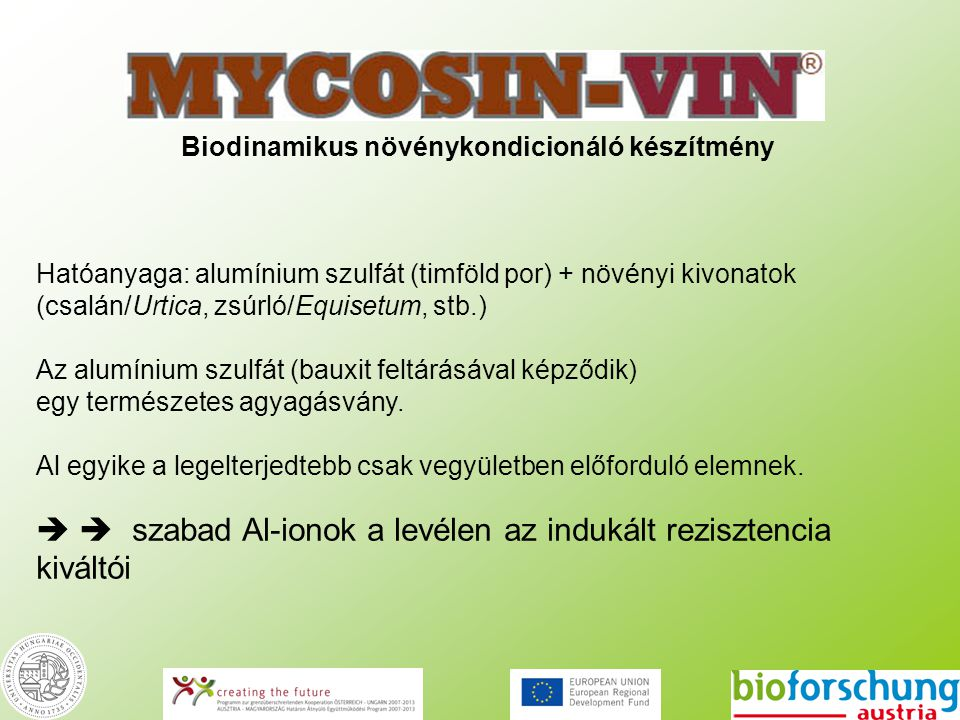 Biodinamikus növénykondicionáló készítmény