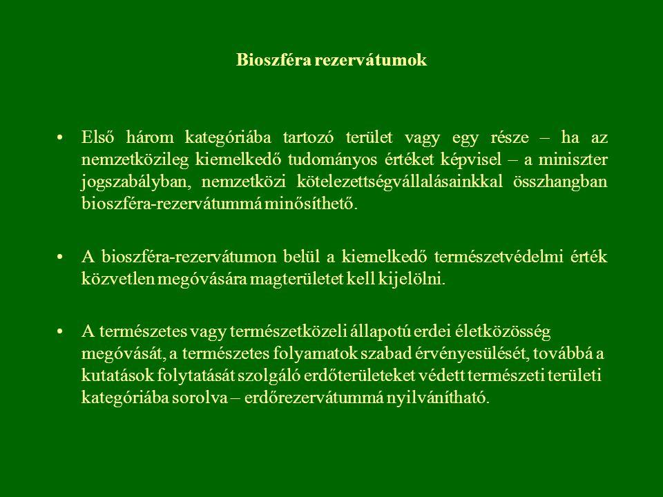 Bioszféra rezervátumok