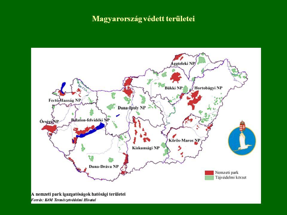 Magyarország védett területei
