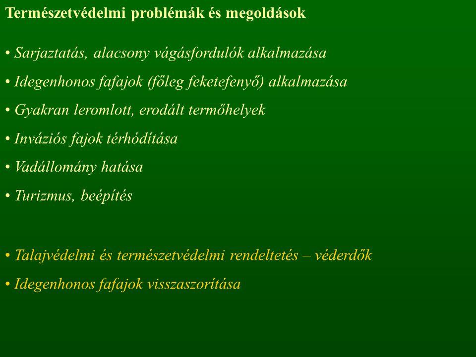 Természetvédelmi problémák és megoldások