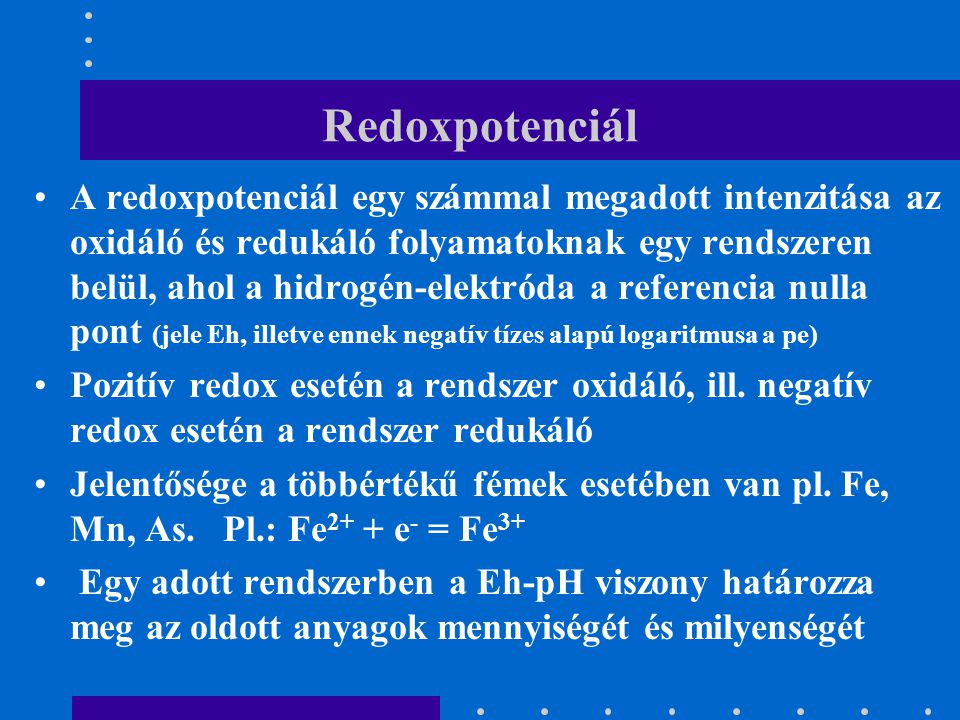 Redoxpotenciál