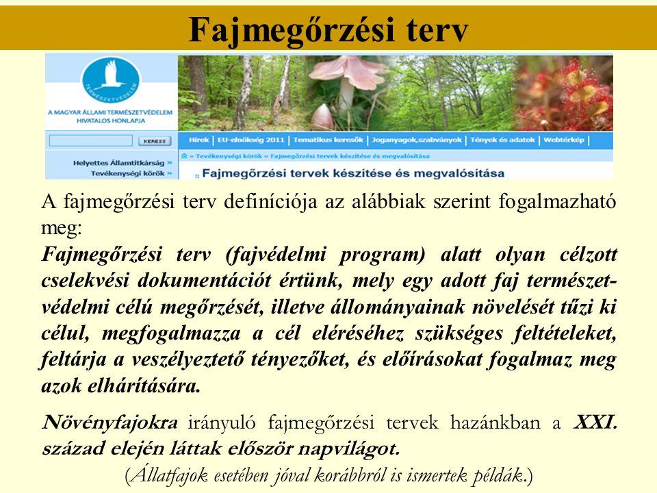 (Állatfajok esetében jóval korábbról is ismertek példák.)