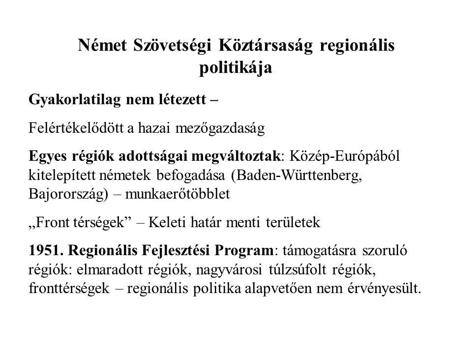 Német Szövetségi Köztársaság regionális politikája