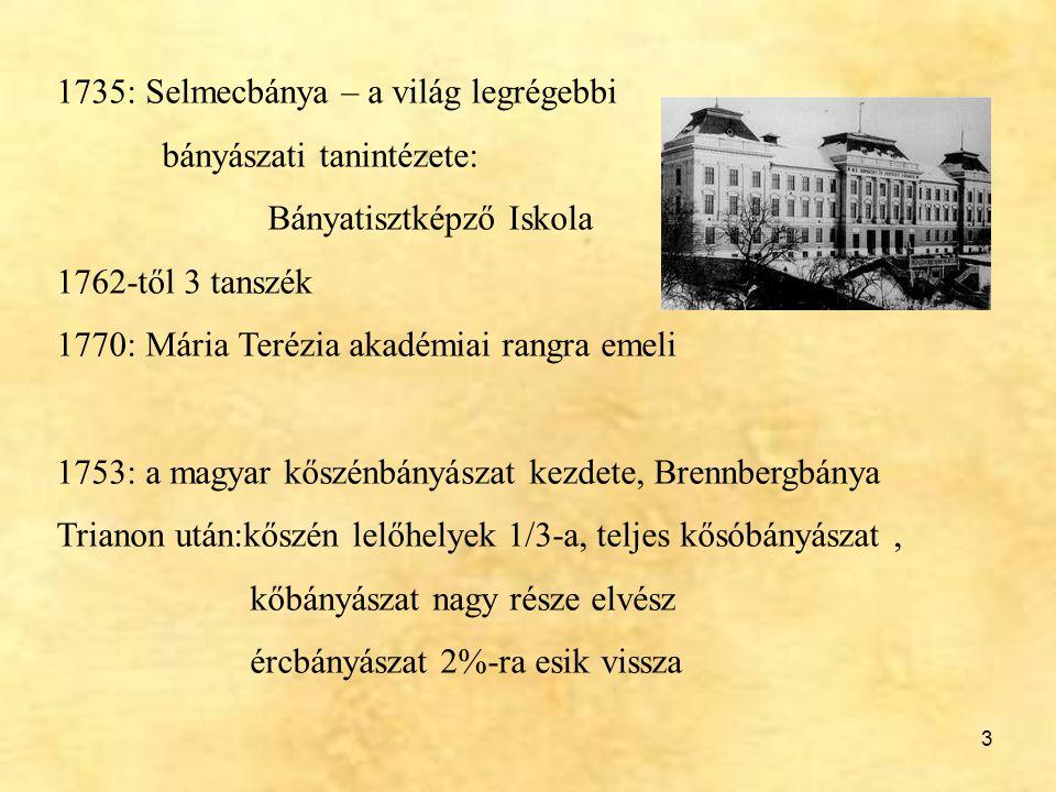 1735: Selmecbánya – a világ legrégebbi