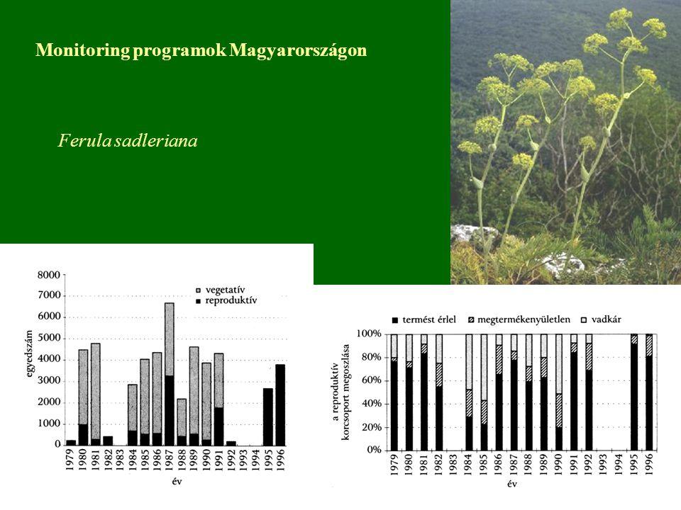 Monitoring programok Magyarországon
