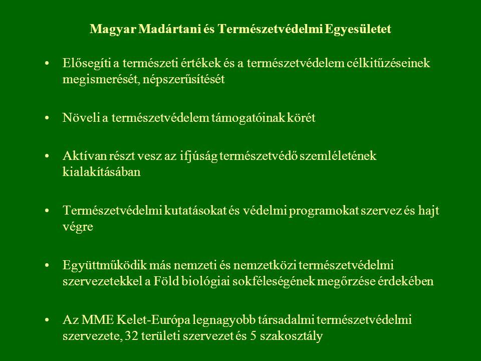 Magyar Madártani és Természetvédelmi Egyesületet