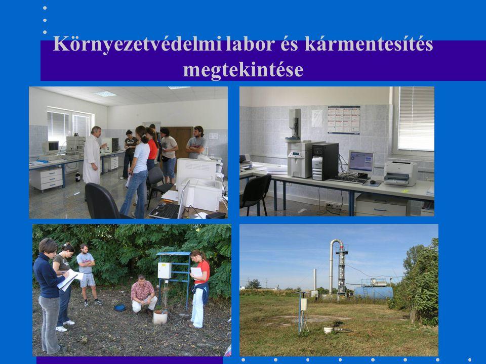 Környezetvédelmi labor és kármentesítés megtekintése
