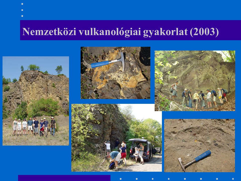 Nemzetközi vulkanológiai gyakorlat (2003)