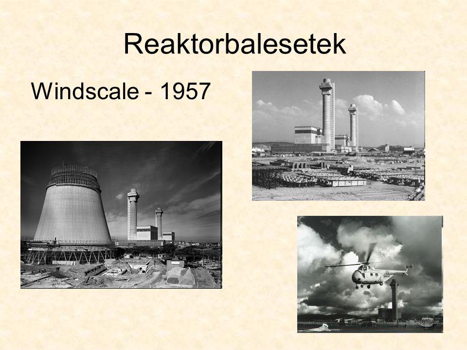 Reaktorbalesetek Windscale - 1957