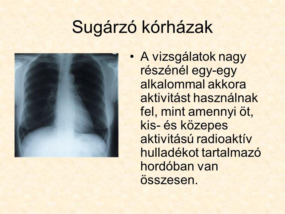 Sugárzó kórházak