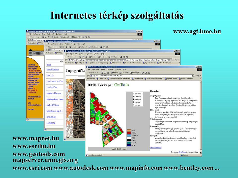 Internetes térkép szolgáltatás