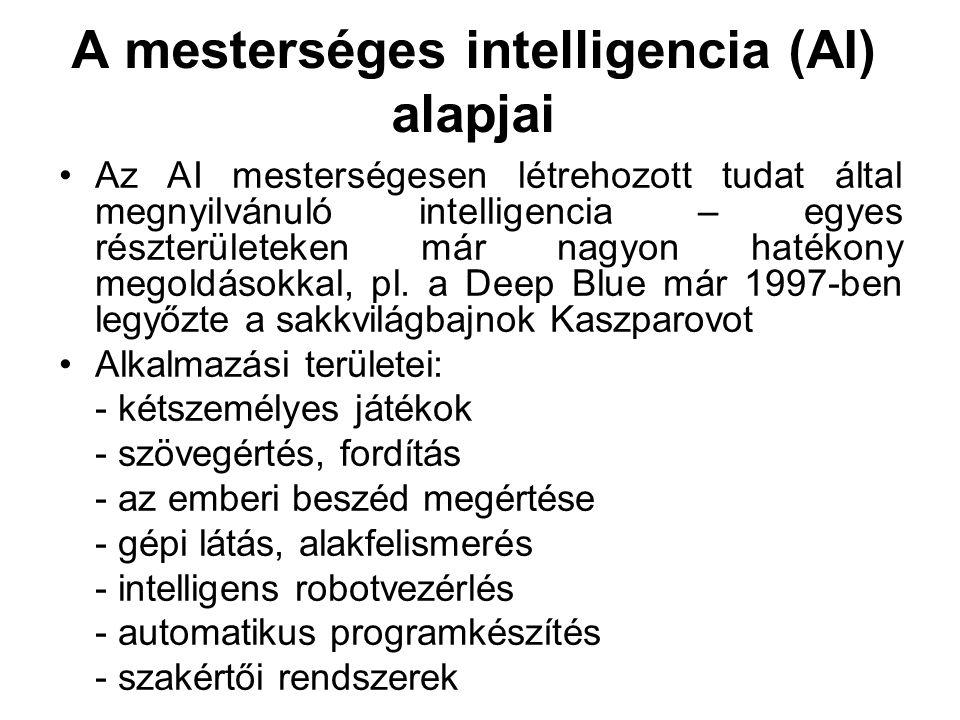A mesterséges intelligencia (AI) alapjai